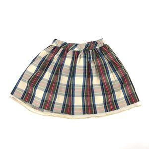 crewcuts sequin plaid skirt